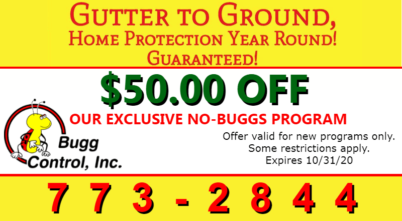 coupon for Bugg Control